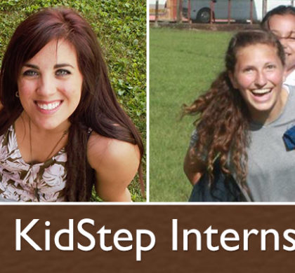 KidStep Summer Interns