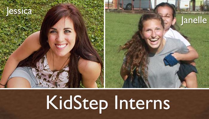 KidStep Summer Interns