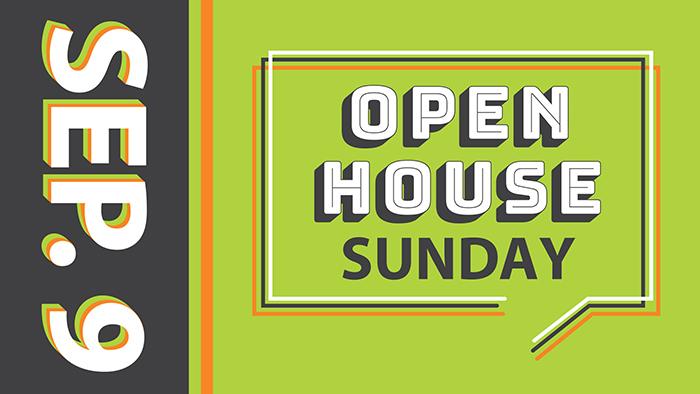 Open House Sunday